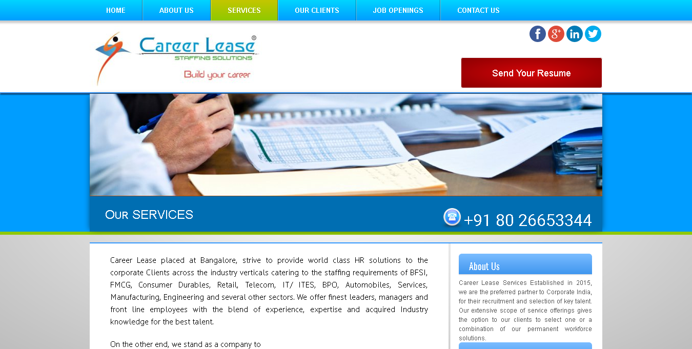 CareerLease-services